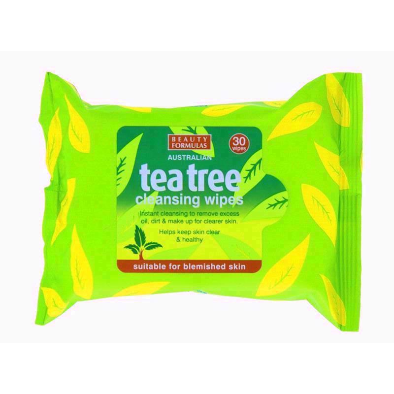 Beauty Formula Tea Tree Wipes | Equinox Outlet