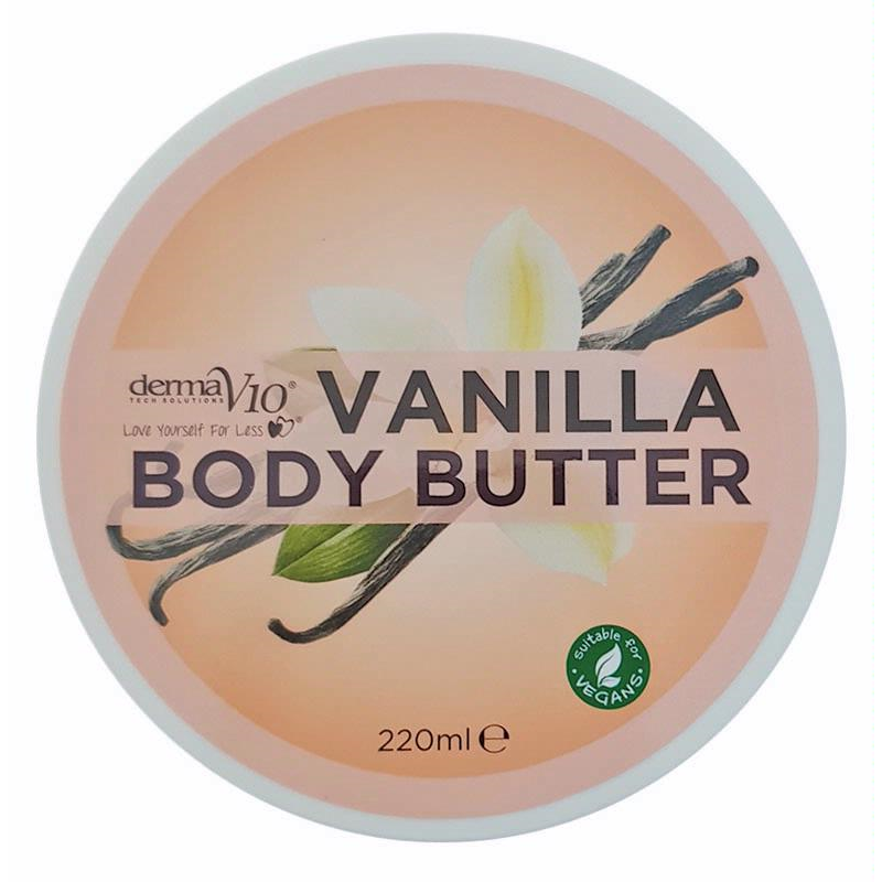 Derma V10 Body Butter Vanilla | Equinox Outlet