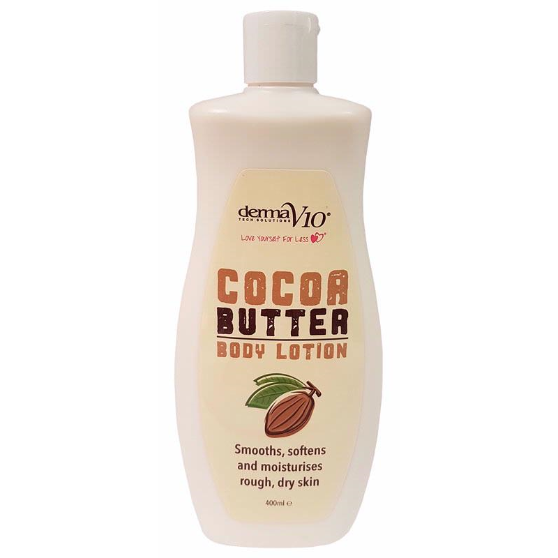 Derma V10 cocoa Butter Lotion | Equinox Outlet