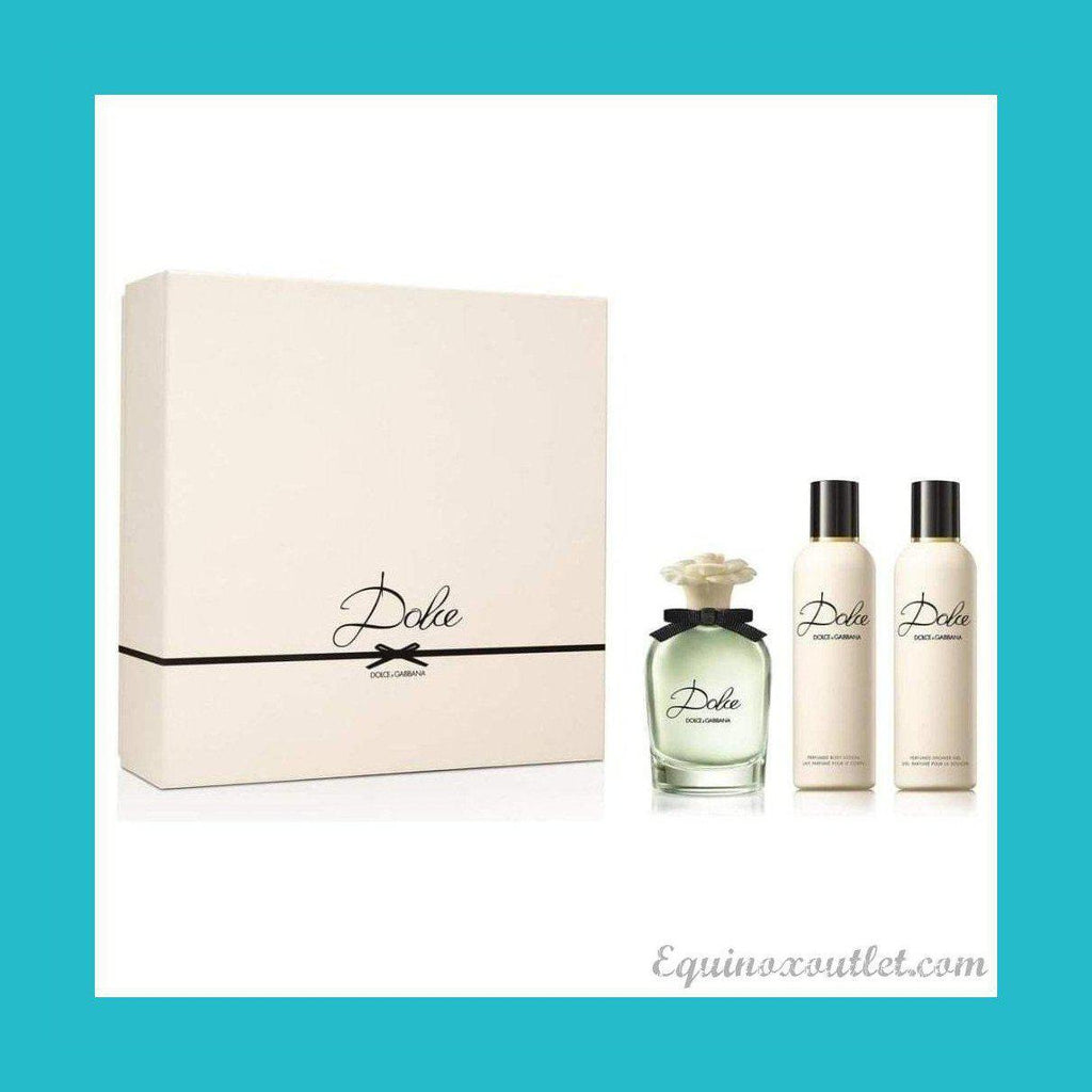 Dolce & Gabbana Dolce Gift Set 75ml EDP + 100ml Body Lotion + 100ml Shower Gel | Equinox Outlet