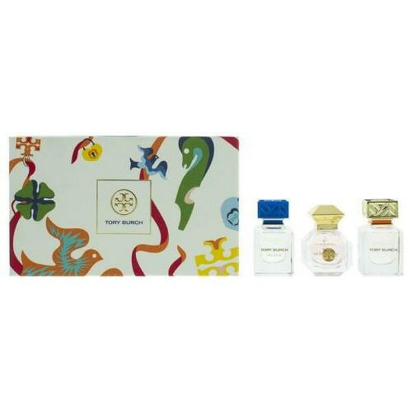 Tory Burch Miniature Fragrance Collection Gift Set - 3 Pieces (This gift set contains:  1 x 7ml Tory Burch EDP 1 x 7ml Love Relentlessly EDP 1 x 7ml Bel Azur EDP) | Equinox Outlet