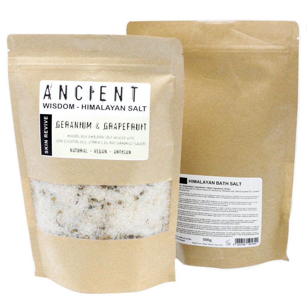 Himalayan Bath Salt Blend 500g - Skin Revive-equinoxoutlet