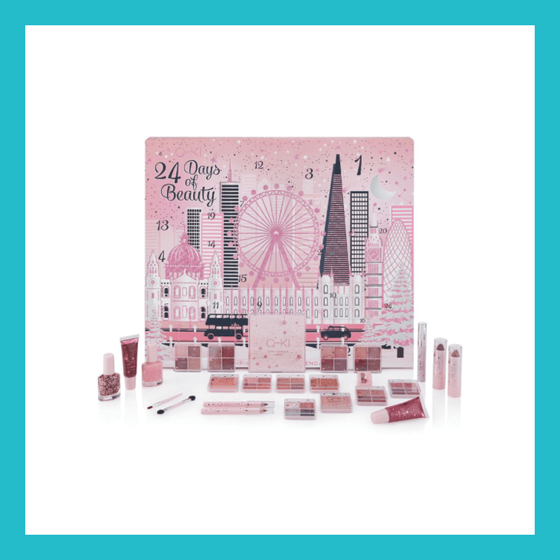 Q-KI 24 Days of Beauty New York Advent-Calendar 26 Pieces | Equinox Outlet