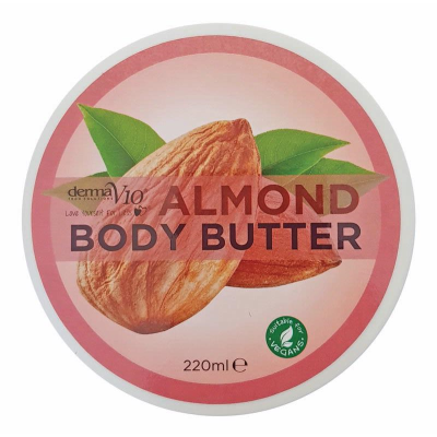 Derma V10 Body Butter Almond 220ML | Equinox Outlet