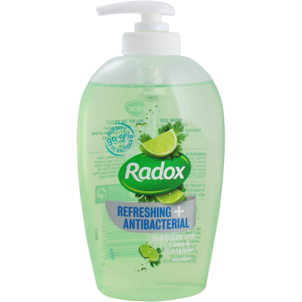 Radox Anti-Bacterial & Refreshing Handwash 250ml - Lime & Coriander | Equinox Outlet