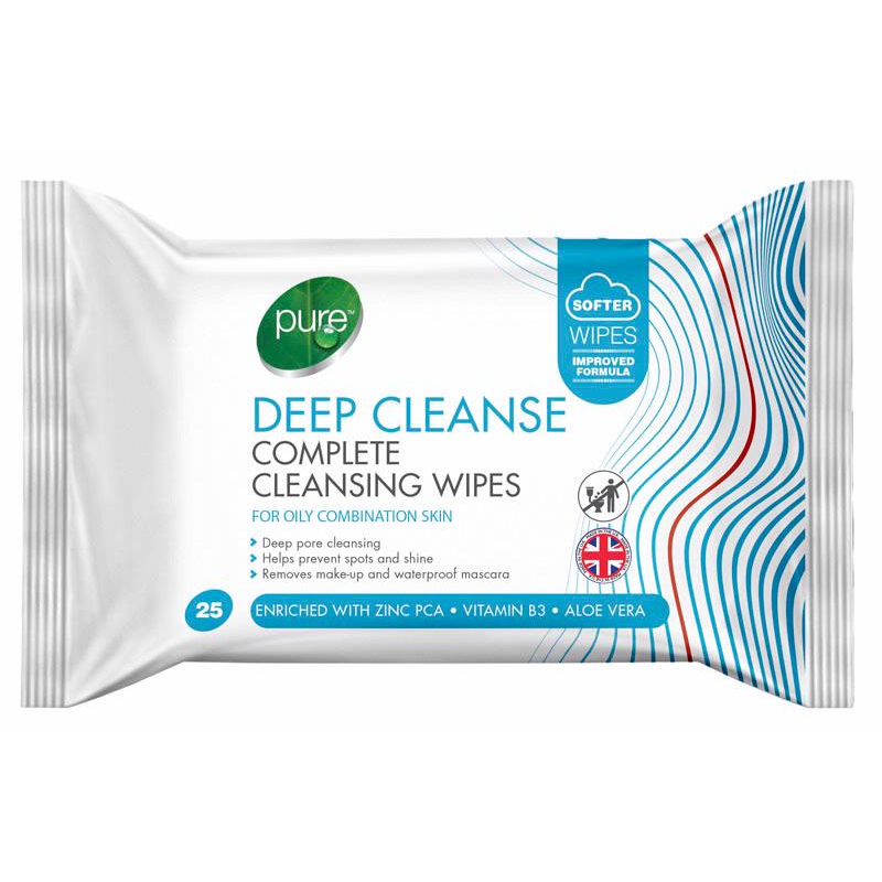 Pure Wipes Deep Cleanse 25 Pack | Equinox Outlet
