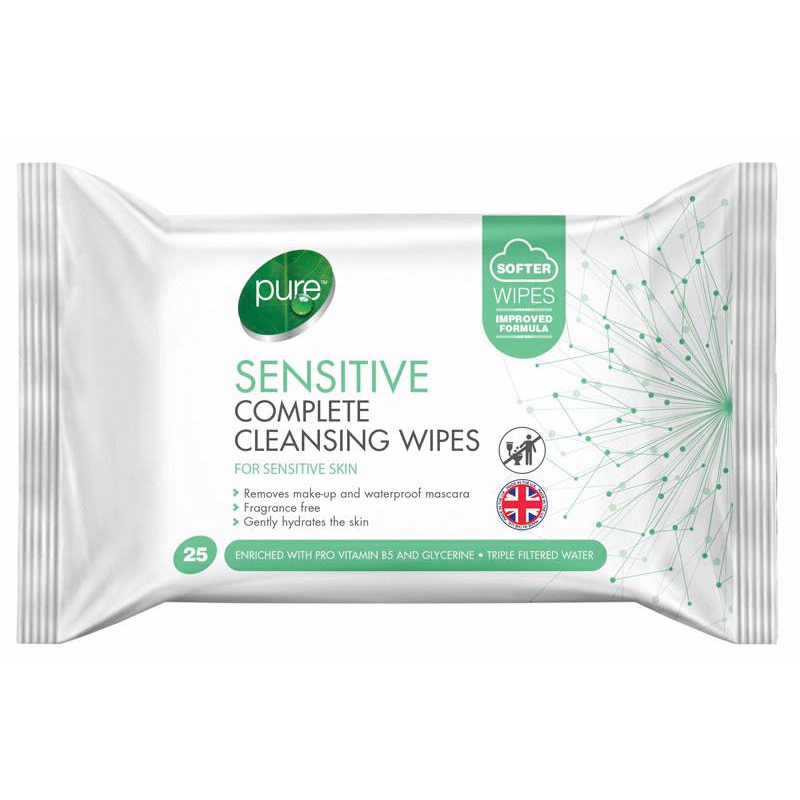 Pure Sensitive Wipes 25 Pack | Equinox Outlet