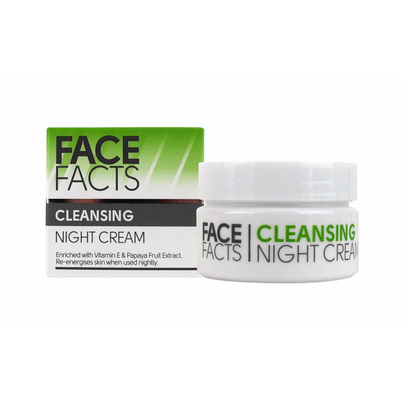 Quest Face Facts Cleansing Night Cream | Equinox Outlet