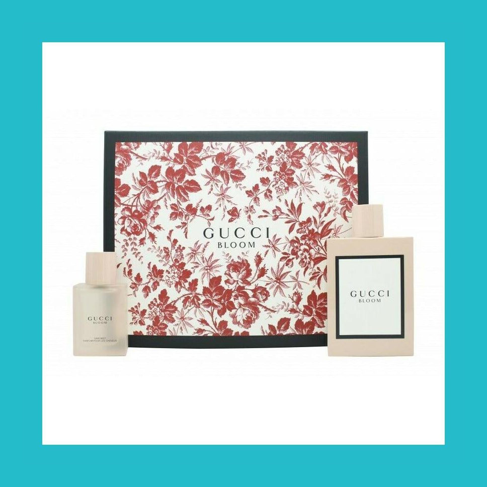 Gucci Bloom Gift Set 100ml EDP + 30ml Hair Mist | Equinox Outlet