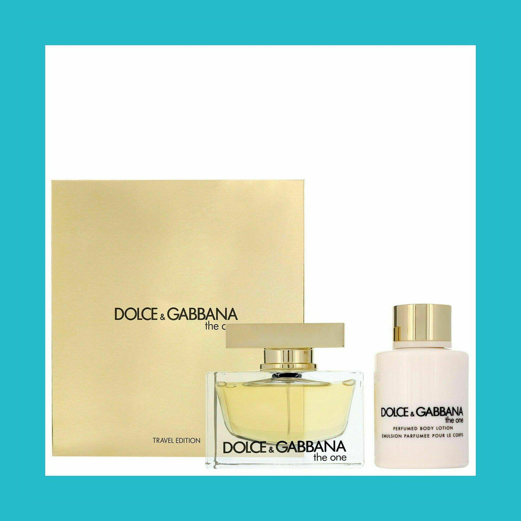 Dolce & Gabbana The One Gift Set 50ml EDP + 100ml Body Lotion | Equinox Outlet
