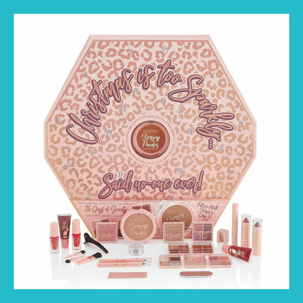 Sunkissed 25 Days Of Beauty Advent Calendar 25 Pieces | Equinox Outlet