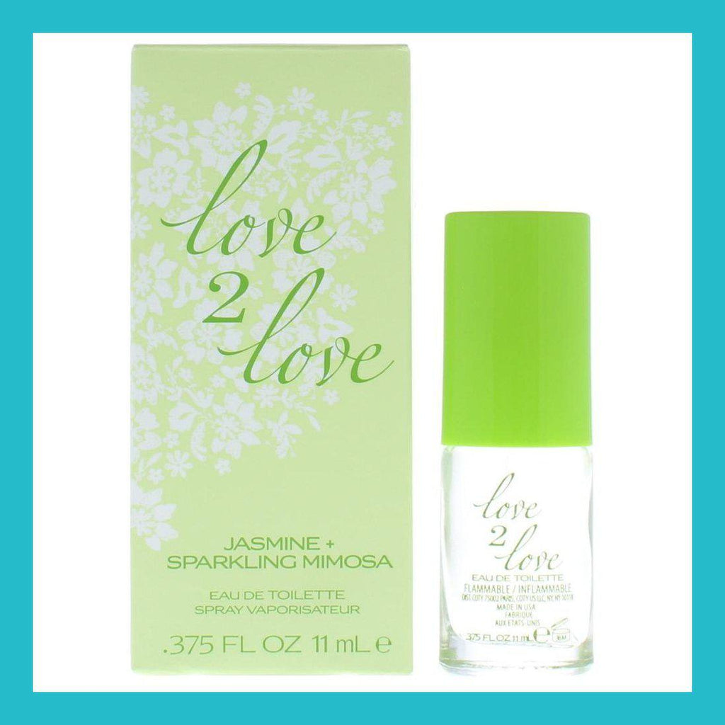 Love2Love Jasmine + Sparkling Mimosa Eau de Toilette 11ml Spray | Equinox Outlet