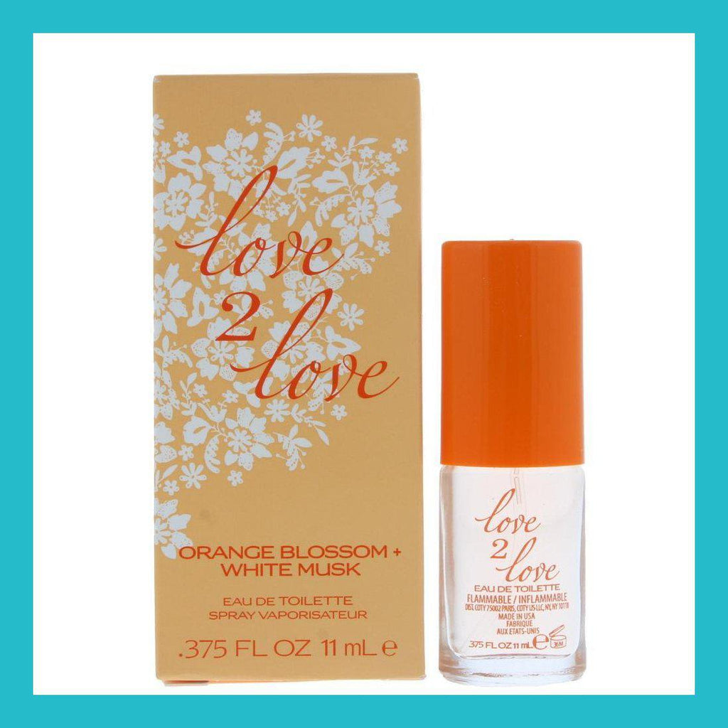 Love2Love Orange Blossom + White Musk Eau de Toilette 11ml Spray | Equinox Outlet