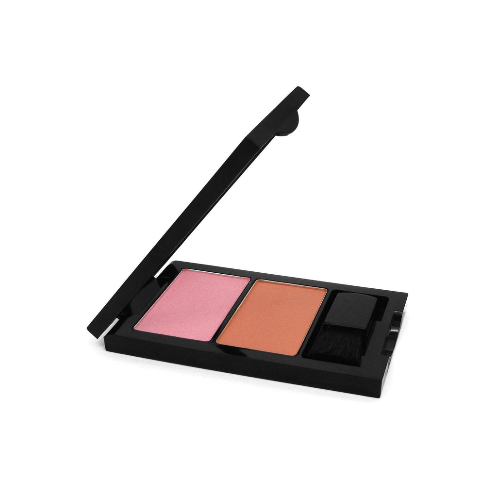 W7 Duo Blusher & Angled Blusher Brush | Equinox Outlet
