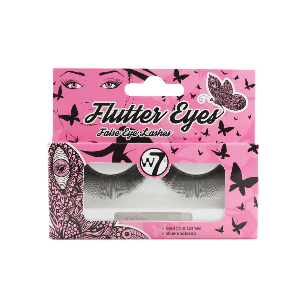 W7 Flutter Eyes -  False Eye Lashes 01 | Equinox Outlet