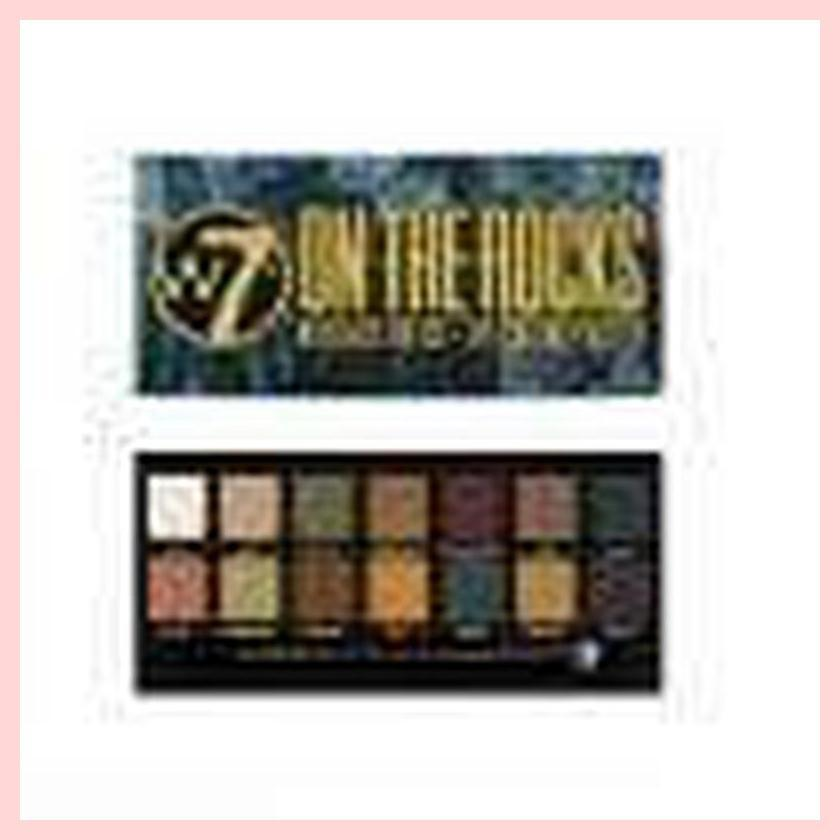 W7 On The Rocks Naturals On Ice Eye Colour 14 Colours Eyeshadow Palette | Equinox Outlet