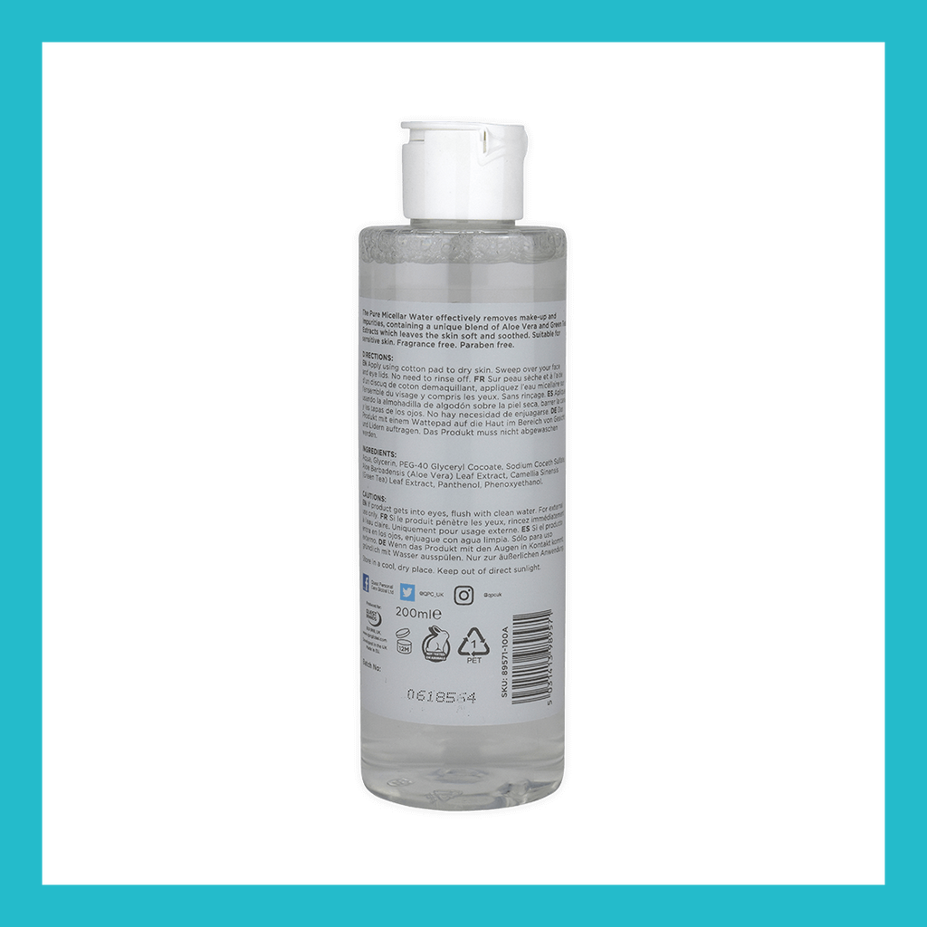 Skin Academy Pure Cleansing Micellar Water | Equinox Outlet