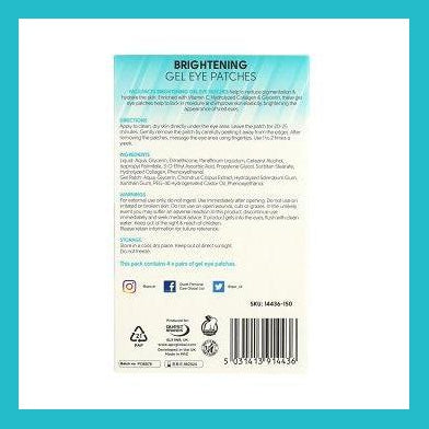 Face Facts Gel Eye Patches - Brightening | Equinox Outlet