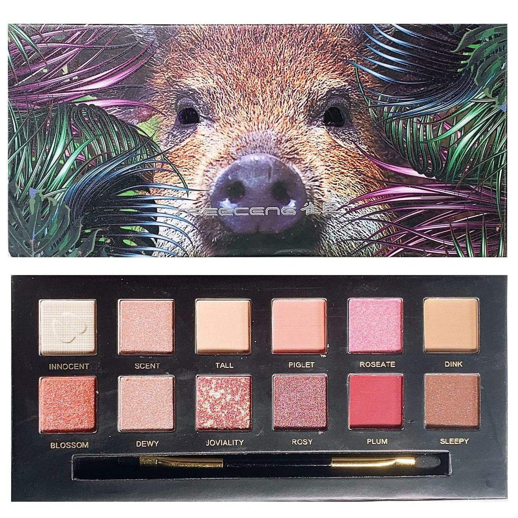 Explorer 12 Colours Wild Animal Eyeshadow Palette | Equinox Outlet