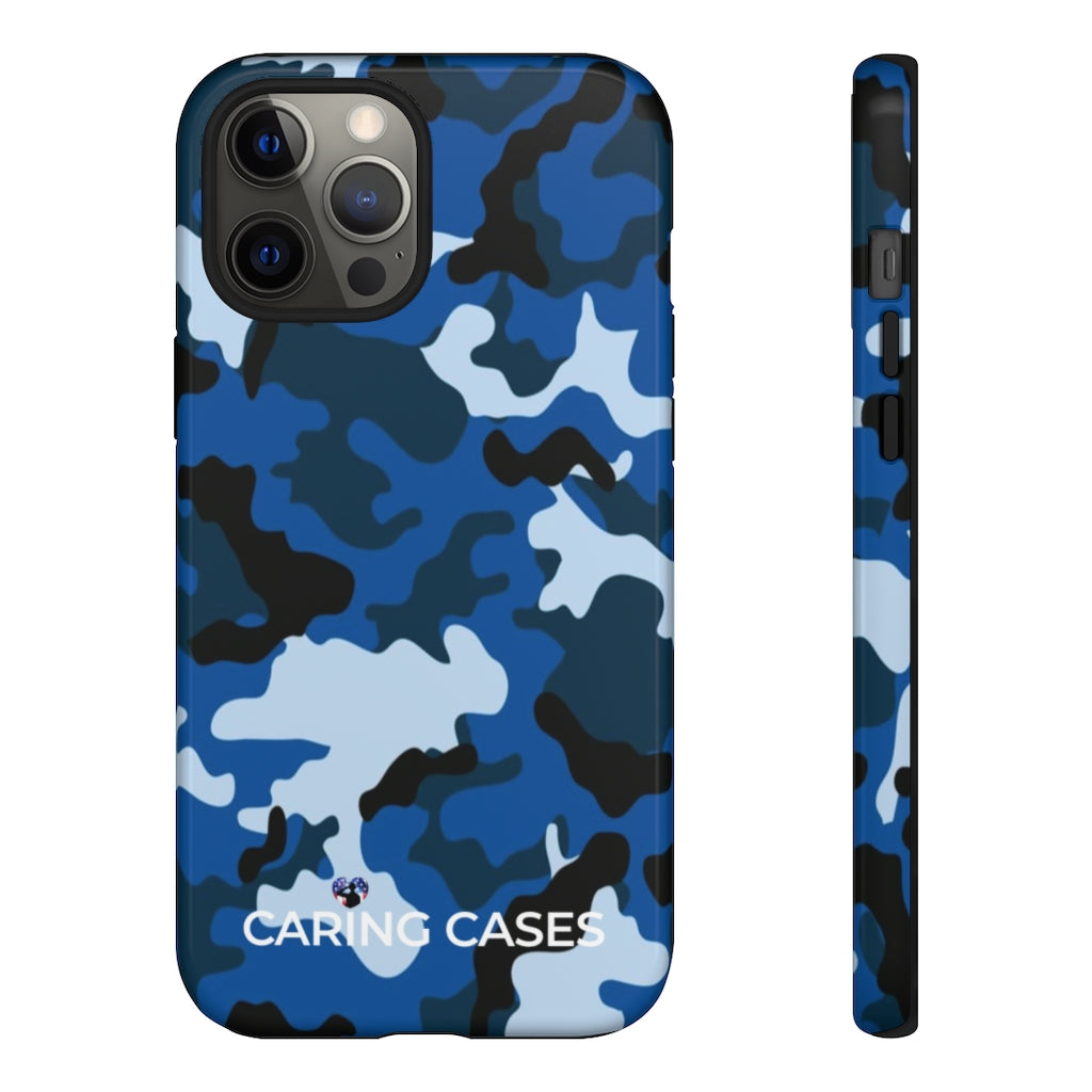 Veterans - LIMITED EDITION CAMO - iCare Tough Phone Case