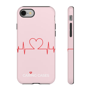 Our Heroes Nurses - LIMITED EDITION Pink iCare Tough Phone Case