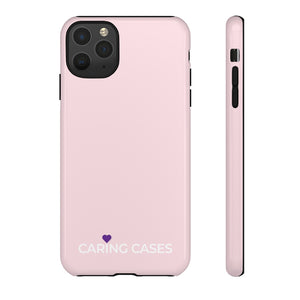 Alzheimer's - Pink iCare Tough Phone Case