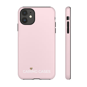 Autism -Pink iCare Tough Phone Case