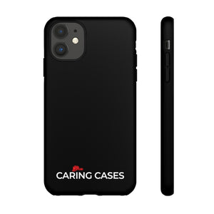 Our Heroes - Fire Fighters Black iCare Tough Phone Case