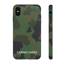 Load image into Gallery viewer, Veterans - LIMITED EDITION GREEN CAMO - iCare Tough Phone Case