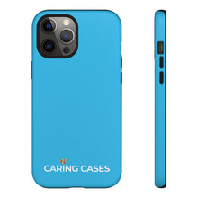 Load image into Gallery viewer, Autism - Sky Blue iCare Tough Phone Case