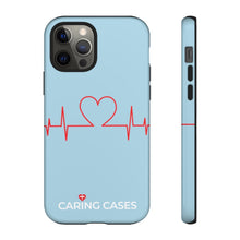 Load image into Gallery viewer, Our Heroes Nurses - LIMITED EDITION Soft Blue iCare Tough Phone Case