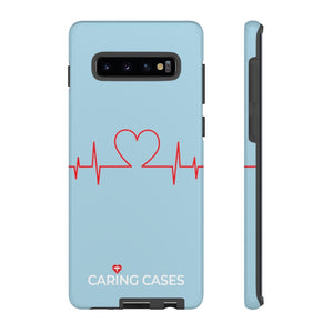 Our Heroes Nurses - LIMITED EDITION Soft Blue iCare Tough Phone Case