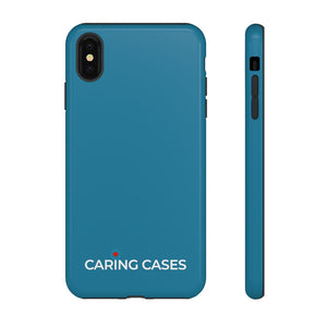 Diabetes - Navy iCare Tough Phone Case