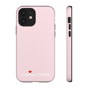 Healthy Hearts - Pink iCare Tough Phone Case