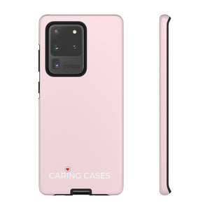 Diabetes - Pink/white iCare Tough Phone Case