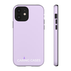 Epilepsy - Purple iCare Tough Phone Case