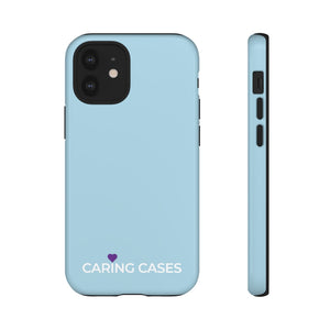 Alzheimer's - Soft Blue iCare Tough Phone Case