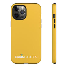 Load image into Gallery viewer, Autism - Saffron Yellow iCare Tough Phone Case