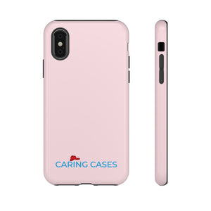 Our Heroes - Fire Fighters Pink/blue iCare Tough Phone Case