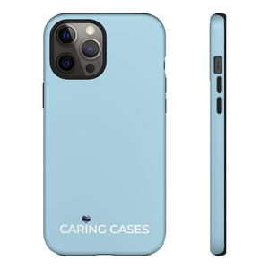 Our Heroes Police - Soft Blue iCare Tough Phone Case