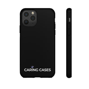 Our Heroes Police - Black iCare Tough Phone Case
