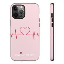 Load image into Gallery viewer, Our Heroes Nurses - LIMITED EDITION Pink iCare Tough Phone Case