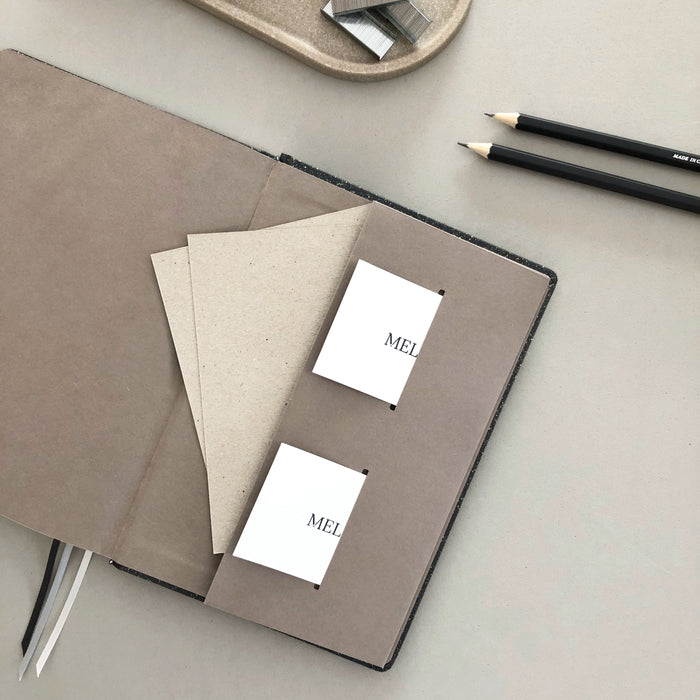 STONE PAPER NOTEBOOK · BLACK