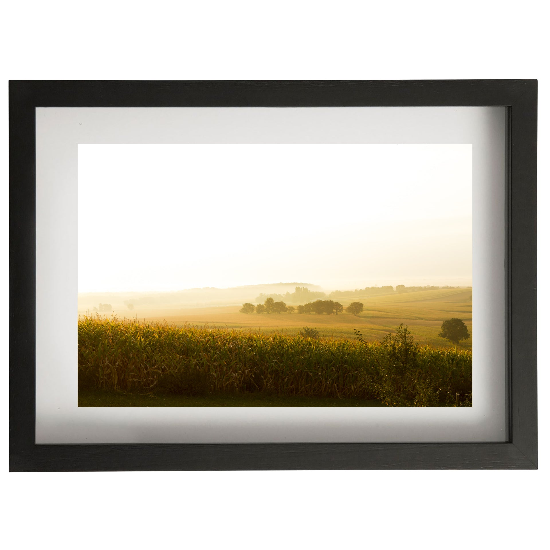 Alsace view framed