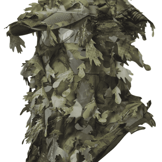 3D Camouflage Full Cover Leafy Hat Green-North Mountain Gear