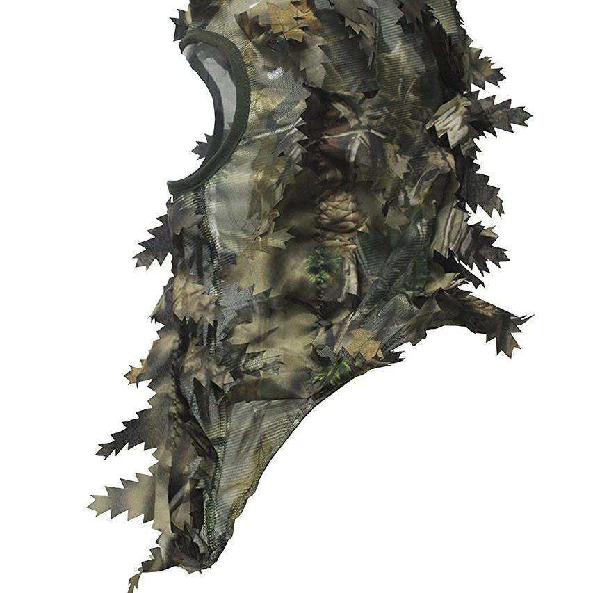3D Leafy Hunting Face Mask Ambush Brown-North Mountain Gear