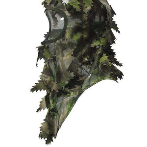 3D Leafy Hunting Face Mask Ambush Green-North Mountain Gear