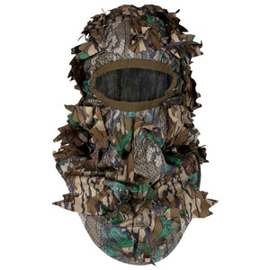 Mossy Oak Heavy Duty Greenleaf Full Face Mask