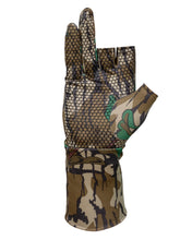 Load image into Gallery viewer, Fingerless Mossy Oak Greenleaf Gloves