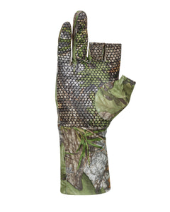 MOSSY OAK FINGERLESS OBSESSION GLOVES